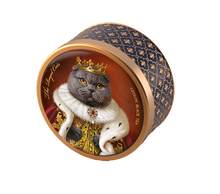 Load image into Gallery viewer, The Royal Dogs&Cats, loose leaf black tea 30g, tin, SCOTTISH FOLD