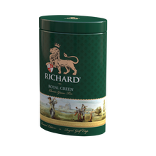 "Load image into Gallery viewer, ""Royal Green"" green leaf 80g, Golf tin"