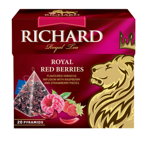 Royal Red Berries, fruit-herbal tea in pyramids, 20х1,7g