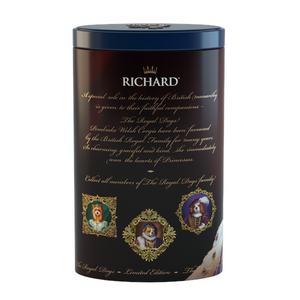 The Royal Dogs, loose leaf black tea 80g, tin CORGI