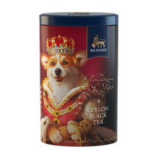 Load image into Gallery viewer, The Royal Dogs, loose leaf black tea 80g, tin CORGI
