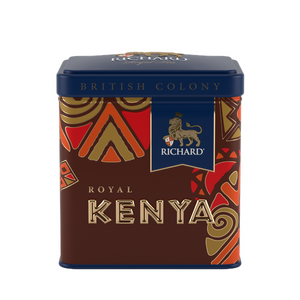 """British Colony Royal Kenya"" black leaf 50g, tin"