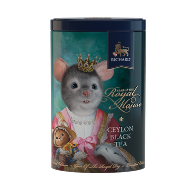 Year Of The Royal Mouse, loose leaf black tea 80g, tin, BABY