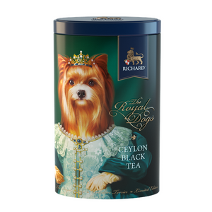 The Royal Dogs, loose leaf black tea 80g, tin YORKSHIRE