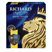 Load image into Gallery viewer, Royal Ceylon, black tea in tea bags, 100x2g