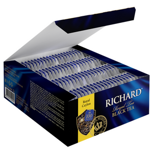 Royal Ceylon, black tea in tea bags, 100x2g