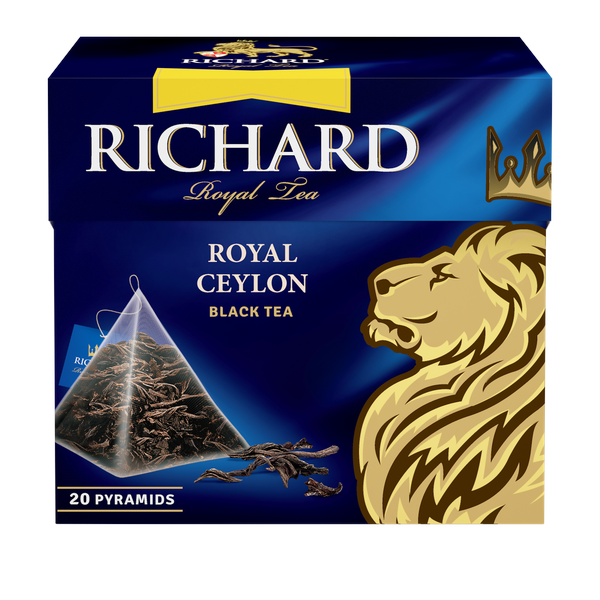 Royal Ceylon, black tea in pyramids, 20х1,7g