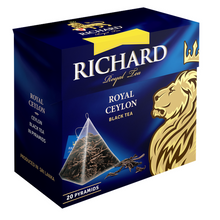 Load image into Gallery viewer, Royal Ceylon, black tea in pyramids, 20х1,7g