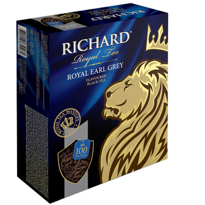"""Royal Earl Grey"" black flav 100x2g tea bags"