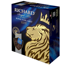 "Load image into Gallery viewer, ""Royal Earl Grey"" black flav 100x2g tea bags"