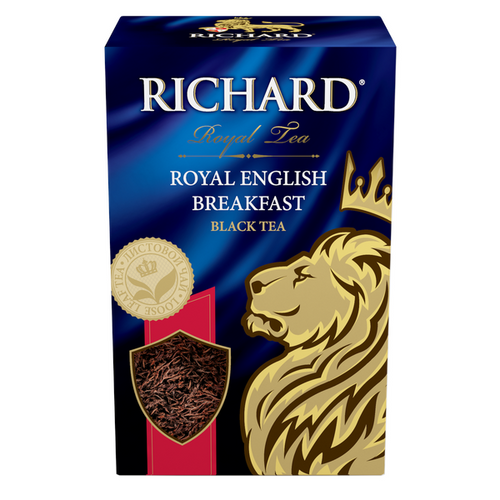 Royal English Вreakfast, loose leaf black tea, 90g