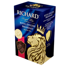 "Load image into Gallery viewer, ""Royal English Вreakfast"" black leaf 90g"