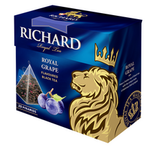 "Load image into Gallery viewer, ""Royal Grape"" black flav tea bag 20х1,7g"