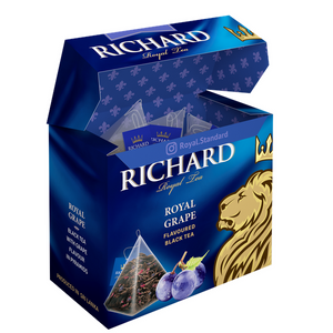 """Royal Grape"" black flav tea bag 20х1,7g"