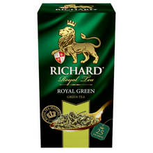 Load image into Gallery viewer, Royal Green, green tea in sachets, 25х2g