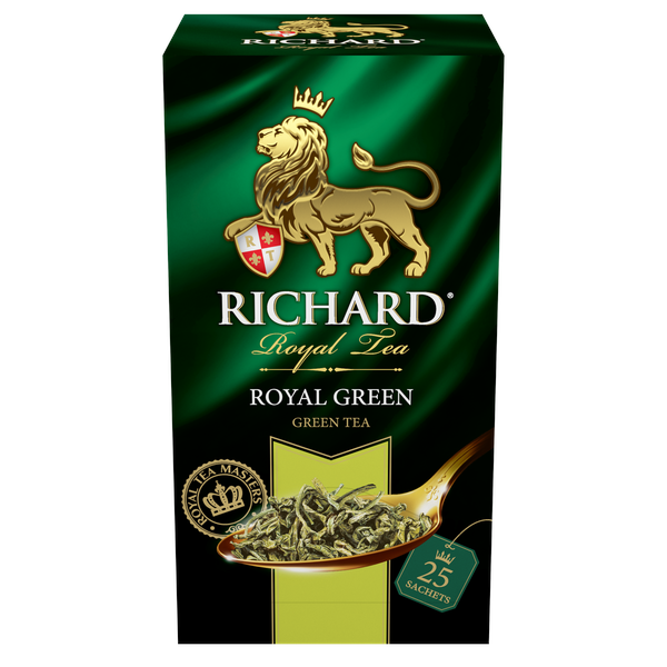 Royal Green, green tea in sachets, 25х2g