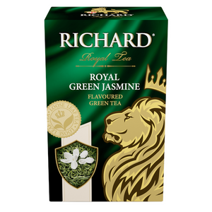 Royal Green Jasmine, flavoured loose leaf green tea, 90g