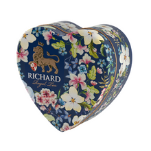 Load image into Gallery viewer, Royal Heart, flavoured loose leaf black tea 30g, tin, BLUE