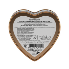 "Load image into Gallery viewer, ""Royal Heart"" black flav leaf 30g, tin, BLUE"