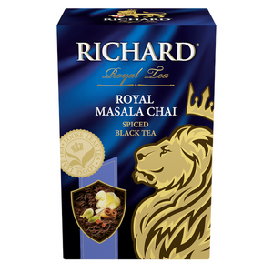 Royal Masala Chai, flavoured loose leaf black tea, 90g