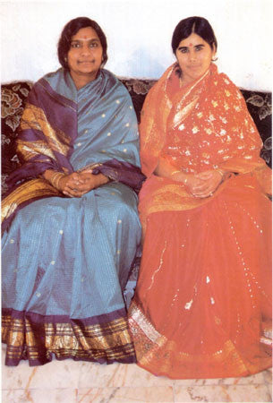 Adilakshmi and Mother Meera