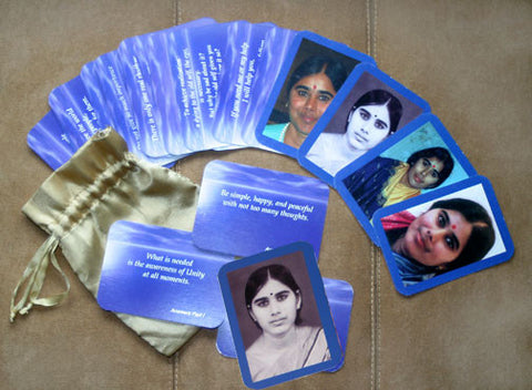 Mother Meera inspirational card deck