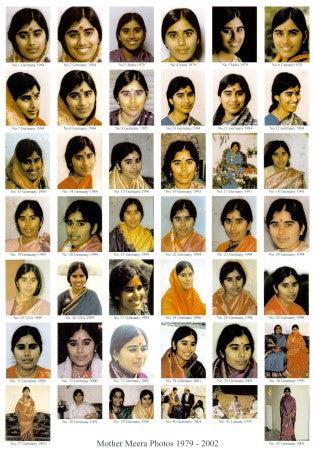 Mother Meera Multi Photo Proof