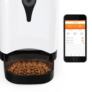 The Automatic Pet Feeder With Camera