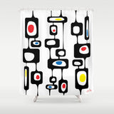 Googie Towers Shower Curtain