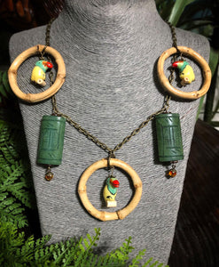 Royal Toucan Necklace