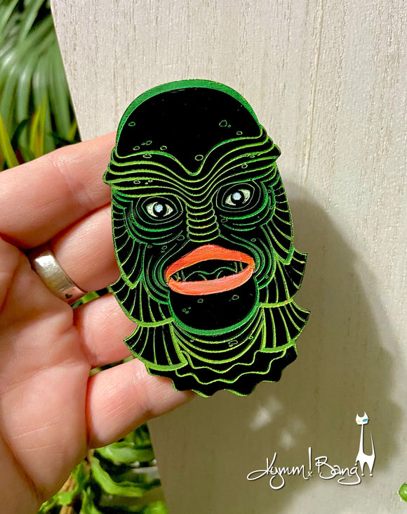 Creature #17 Large Green Pin