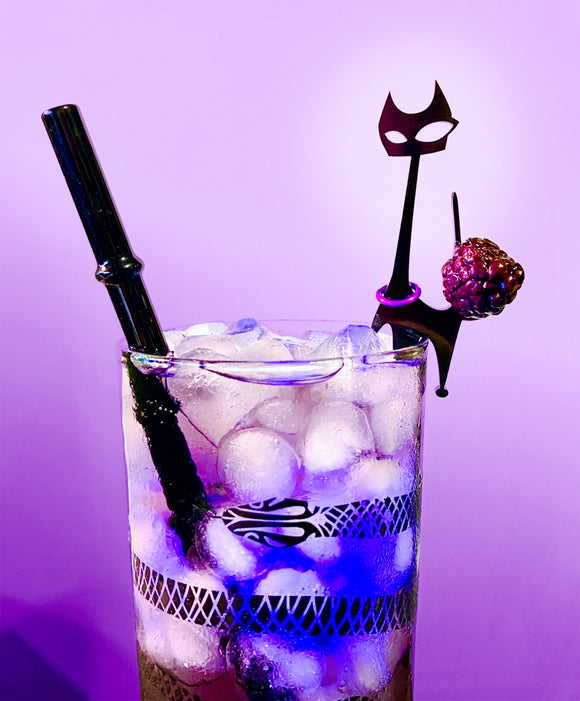 Goth Cat Swizzle Sticks