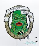 Creech's Girl - Necklace or Brooch