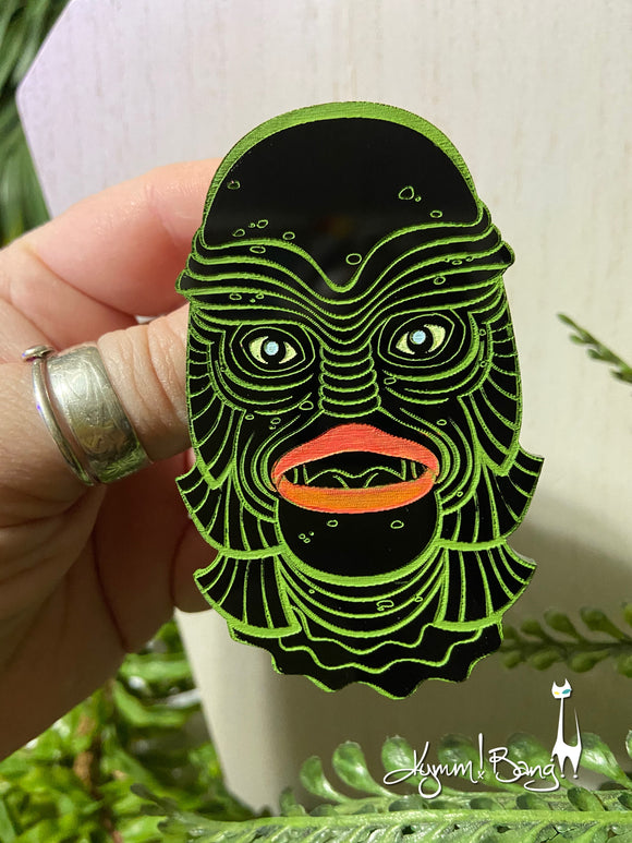 Creature #16 Large Green Pin