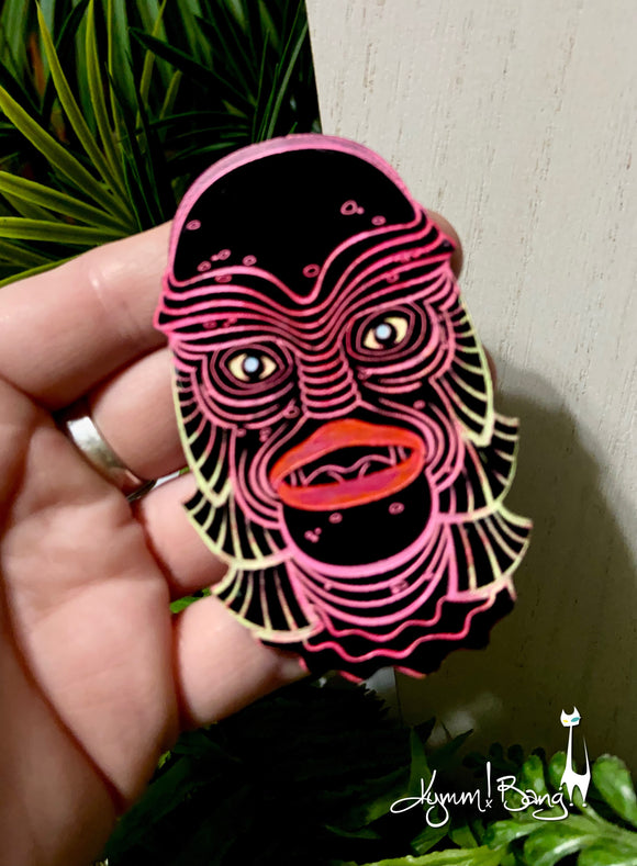 Creature #15 Large Pink Pin