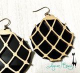 Japanese Fishing Float Earrings