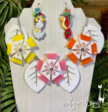 Aloha Blossom Necklace - Starburst and White