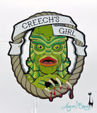Creech's Girl - Bloody Necklace or Brooch