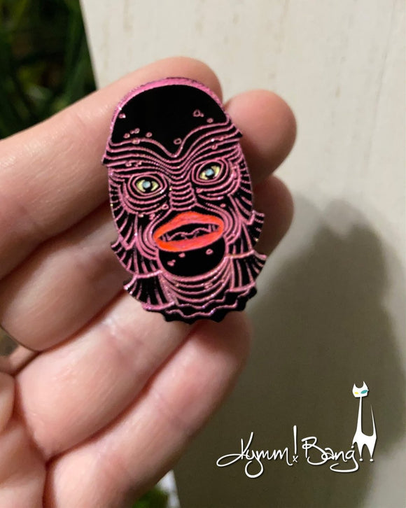 Creature #14 Small Pink Pin