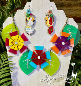 Aloha Blossom Necklace - Multi Color