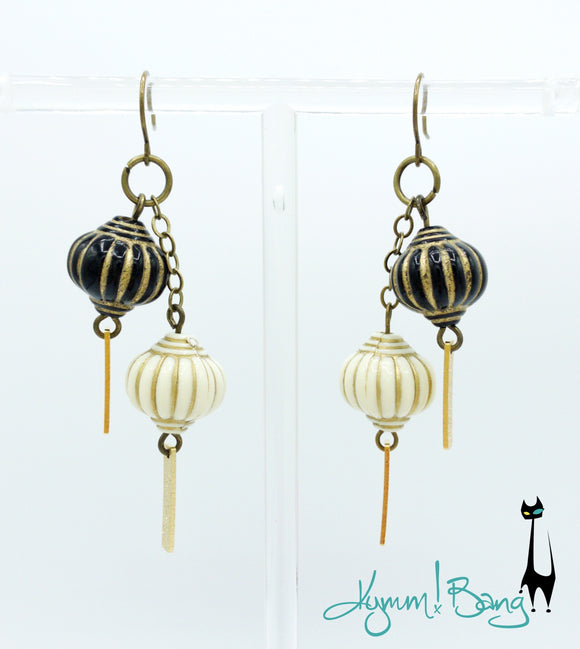 Chinese Lantern Earrings