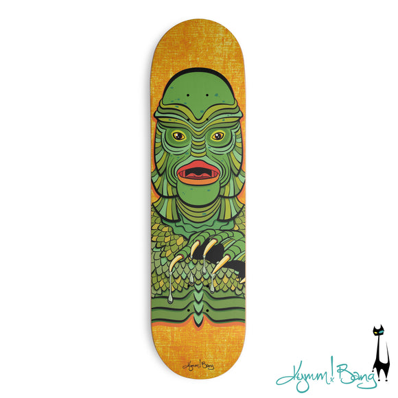 GillMan Skate Deck available via Threadless