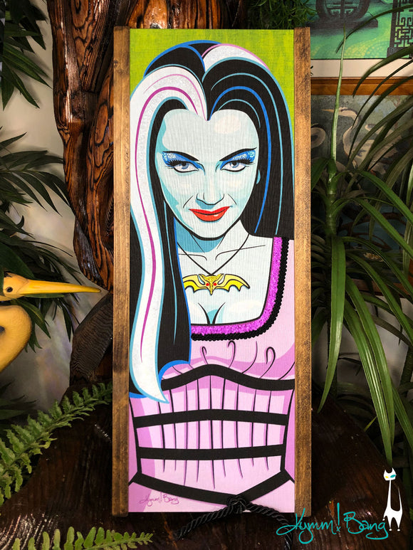 Lily Munster Gravel Art