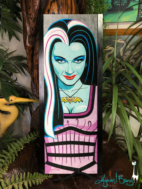 Velvet Lily Munster Gravel Art