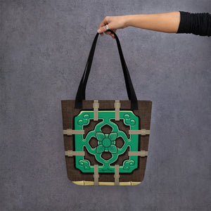 Chinese Tile Tote Bag