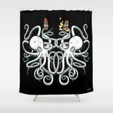 Octopus Shower Curtain
