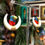 Loyal, Royal Order of Toucans Earrings