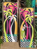 New Wave Aloha Girl Gravel Art Pair