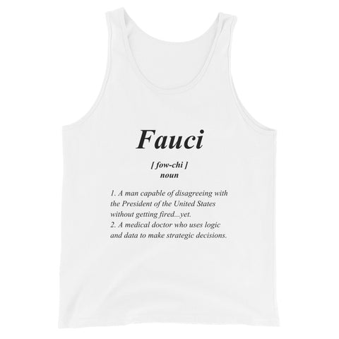 Fauci Definition - Unisex Tank Top