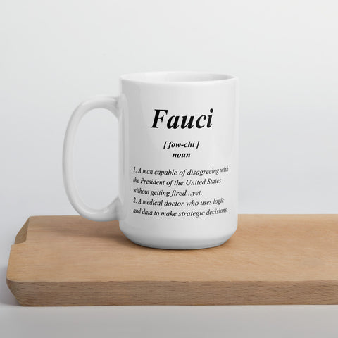 Fauci Definition - Coffee Mug